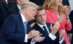 Bastille Day march wraps up Trump's Paris visit