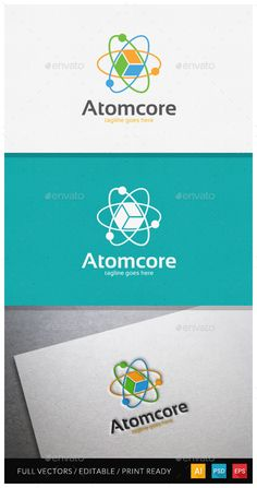 One Day logo sale on graphicriver #logodesign #science #atom #cybermonday #sale #logo #logotemplate #freedom #sp