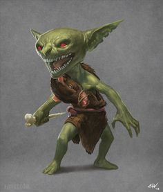 Rat Goblin by apathie.deviantart.com on @DeviantArt