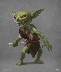 Rat Goblin by apathie.deviantart.com on @DeviantArt