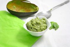 The World's Healthiest Pesto- Super creamy, oil free, and only 20 calories a tablespoon. All thanks to a secret ingredient...