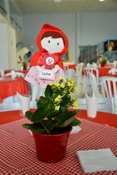 Atelier Dona Totinha: Tema Chapeuzinho Vermelho