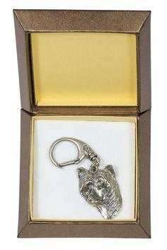 NEW Chinese Crested Dog dog keyring key holder by ArtDogshopcenter