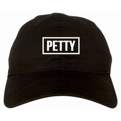 Petty Dad Hat Black