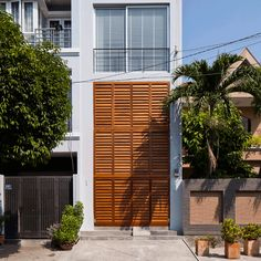 Vietnamese studio MM++ Architects has squeezed a contemporary shophouse into a four-metre-wide site in Ho Chi Minh City.