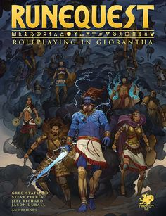 RuneQuest - Roleplaying in Glorantha - Get Started in RuneQuest withbeautiful full-color PDF!  RuneQuest: Roleplaying in Gloranthais an all-new edi