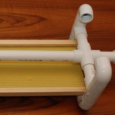 Praise PVC for its endless versatility. Building stuff with PVC pipe is kind of like playing with adult Legos. Here are brilliant PVC hacks. Pvc Pipe Crafts, Pvc Pipe Projects, Lathe Projects, Home Hacks, Diy Hacks, Diy Home Decor Projects, Projects To Try, Diy Home Repair, Tips & Tricks