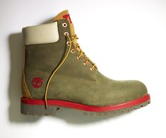 Men's 6 inch custom #timberland boots.