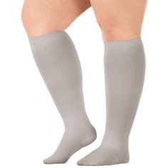 c50a4cb7a8 Healthy StepsTM Wide Calf Compression Socks, 8-15 mmHg, Adult Unisex, Size