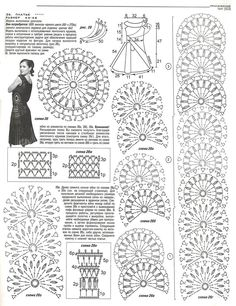 Crochet Dress for Women Free Pattern Crochet Chart, Crochet Motif, Irish Crochet, Crochet Lace, Crochet Stitches, Crochet Hooks, Crochet Bedspread Pattern, Knitting Patterns, Crochet Patterns