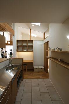_MG_0634 Kitchen Dining, Kitchen Cabinets, Study Corner, Japanese House, Kitchen Interior, Home Kitchens, Home Goods, House Design, Modern