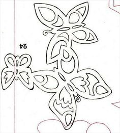 Misc. paper cutting patterns