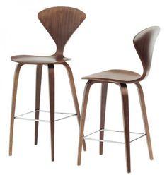 dřevěná barová židle Norman Cherner