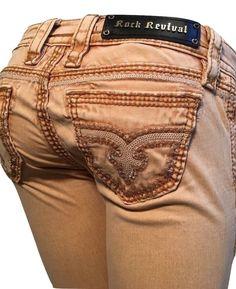 Rock Revival Size 25 Skinny Blair Jeans TJ8316S12 New! #RockRevival #SlimSkinny