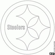 Steelers coloring pages printable for Steelers football helmet coloring page