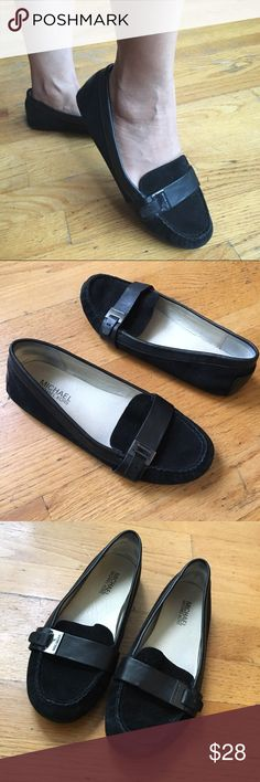 MIchael Kors Moccasins These cute Suede Moccasins . They are very comfortable. In used condition. MICHAEL Michael Kors Shoes Moccasins