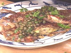 Get Sauteed Soft-Shell Crabs with Caper Brown Butter Recipe from Food Network