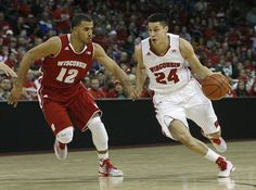 The Wisconsin men's basketball team held its annual Red/White scrimmage at the Kohl Center on Sunday.