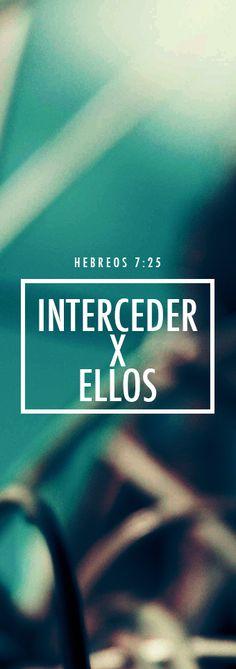 Por eso también puede salvar por completo a los que por medio de él se acercan a Dios, ya que vive siempre para interceder por ellos. Heb. 7:25