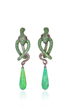 One of a kind amazonia earrings by LYDIA COURTEILLE Preorder Now on Moda Operandi