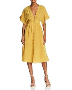 e12dbbde08 MAGIC - Happily GreyHappily Grey Yellow Midi Dress