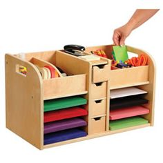 Teacher Desk Organizer #PinIt2WinIt