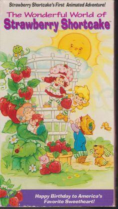 Vintage The Wonderful World Of Strawberry Shortcake by LolidollDiy, $16.00