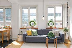 瑞典 17 坪深色公寓改造 - DECOmyplace