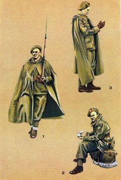 Soldats polonais en 1940.