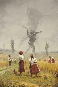 Jakub Rozalski art