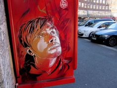 Red Color Dominant Idea Applied On Public Wall Area Equipped With Man Character On Electric Panel Ideas Unit Plan