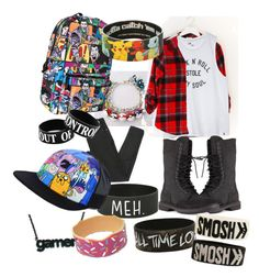 """""""Untitled #33"""" by megan-hinson ❤ liked on Polyvore featuring Volcom, Maison Margiela and Rick Owens"""