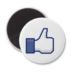 Facebook like magnet