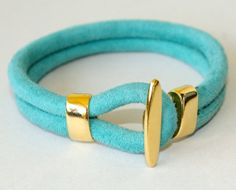 7a1bfc0fad9c CAMEL Brown Stitched SUEDE Leather Bracelet - Genuine Lead Free Suede - 14  Kt Gold Plated Hook Clasp - More Colors   Sizes - Made in USA