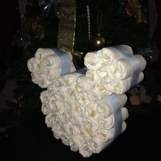 Mickey Mouse diaper cake for Baby shower