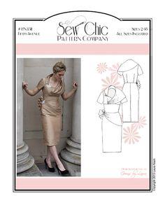 Fifth Avenue Dress - Sew Chic Pattern Co.