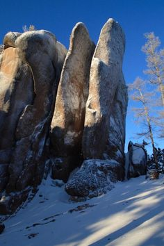 Tiaga Rocks at Nature Reserve Stolby Krasnoyarsk. Very similar to the stony tors and outcrops of the Grey Forest. Ukraine, Nature Reserve, Amazing Nature, Geology, Beautiful World, Siberia Russia, Places To Visit, Volcanic Rock, Russian Federation