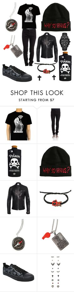 """Nyx"" by ughpeoplegoaway ❤ liked on Polyvore featuring Dsquared2, Valfré, Dondup, Michael Kors, men's fashion and menswear"