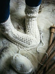 Winter -- Those are some big feet.. but i want to make some of these :3