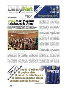 rassegna stampa Meet Magento