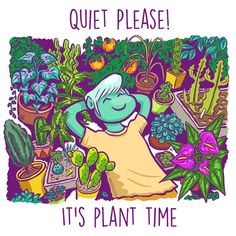 Literally Just 9 Comics About House Plants