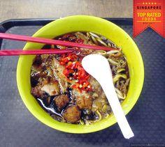Wi Nan Wang Hock Kian Lor Mee @ Golden Shoe Food Centre (Market Street Interim) - Singapore  #lormee #bestfood #singapore #noodles #food #foodgasm #hawkers