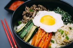 Bimbibap, corean specialtie