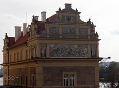 Mural - A beautiful mural on a building adjacent to Charles Bridge in Prague.