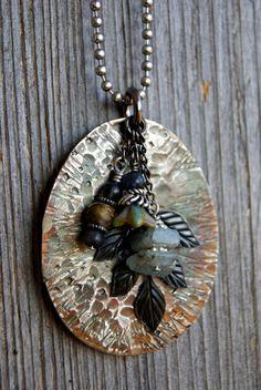 Spoon Necklace. $20.00, via Etsy.