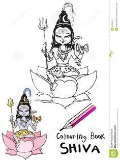colorear shiva - Buscar con Google