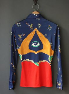 vintage eye shirt