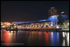 Clark Quay Singapore #Singapore #travel