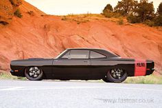 1970 Hemi Roadrunner--NICE BLACK BEAST ... THE HEMI WILL LAY SOME GREAT BLACK TRACKS ON THE ASPHALT...