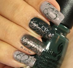 Musings of the Wife of a Jedi: Nail Art Featuring China Glaze The Great Outdoors Collection